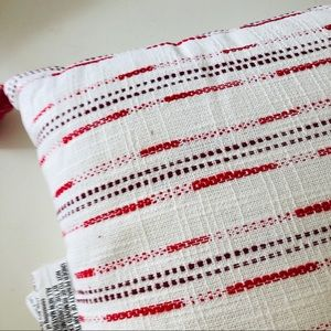Hearth & Hand Accents - Hearth & Hand Embroidered Striped Toss Pillow